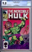 Incredible Hulk #314 CGC 9.8 ow/w
