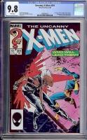 Uncanny X-Men #201 CGC 9.8 w
