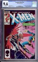 Uncanny X-Men #201 CGC 9.6 w