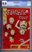 Fantastic Four #75 CGC 8.0 ow/w