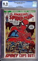 Amazing Spider-Man #112 CGC 9.2 ow/w