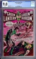 Green Lantern #77 CGC 9.0 w