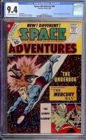 Space Adventures #44 CGC 9.4 ow/w