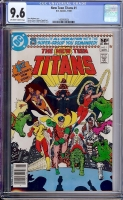 New Teen Titans #1 CGC 9.6 ow/w