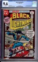 Black Lightning #1 CGC 9.6 w