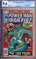 Power Man And Iron Fist #66 CGC 9.6 w