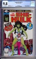 Savage She-Hulk #1 CGC 9.8 w