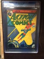 Action Comics #39 CGC 3.5 ow