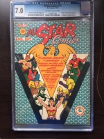 All Star Comics #12 CGC 7.0 ow/w