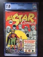 All Star Comics #7 CGC 7.0 cr/ow