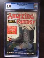 Amazing Adult Fantasy #14 CGC 4.0 cr/ow