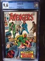Avengers #81 CGC 9.6 w