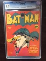 Batman #6 CGC 5.5 ow/w