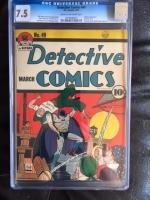 Detective Comics #49 CGC 7.5 cr/ow