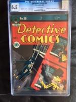 Detective Comics #56 CGC 6.5 ow