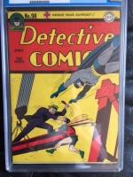 Detective Comics #98 CGC 8.0 cr/ow