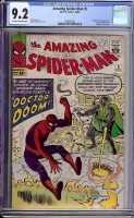 Amazing Spider-Man #5 CGC 9.2 ow/w