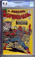 Amazing Spider-Man #25 CGC 9.2 ow/w
