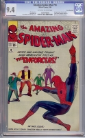 Amazing Spider-Man #10 CGC 9.4 ow/w Rocky Mountain