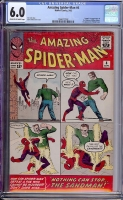 Amazing Spider-Man #4 CGC 6.0 cr/ow