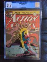 Action Comics #48 CGC 3.5 cr/ow