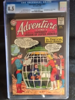 Adventure Comics #321 CGC 8.5 cr/ow
