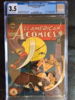 All-American Comics #34 CGC 3.5 cr/ow