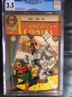 All-American Comics #45 CGC 3.5 cr/ow