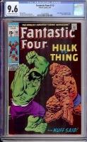 Fantastic Four #112 CGC 9.6 ow/w
