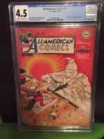All-American Comics #90 CGC 4.5 cr/ow