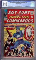 Sgt. Fury and His Howling Commandos #13 CGC 9.0 ow/w
