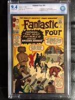 Fantastic Four #15 CBCS 9.4 ow/w