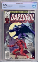 Daredevil #158 CBCS 8.5 ow/w