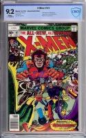 X-Men #107 CBCS 9.2 w Newsstand Edition
