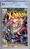 X-Men #105 CBCS 9.4 w Newsstand Edition