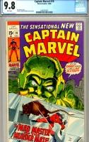 Captain Marvel #19 CGC 9.8 w