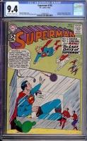 Superman #156 CGC 9.4 ow/w