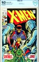 X-Men #57 CBCS 9.0 ow/w