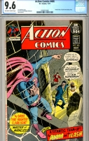 Action Comics #406 CGC 9.6 ow/w