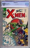 X-Men #21 CBCS 8.0 w
