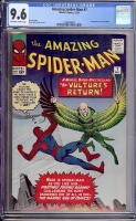 Amazing Spider-Man #7 CGC 9.6 ow/w