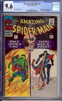 Amazing Spider-Man #37 CGC 9.6 ow/w