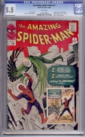 Amazing Spider-Man #2 CGC 5.5 w
