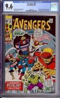 Avengers #88 CGC 9.6 ow/w