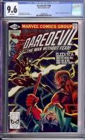 Daredevil #168 CGC 9.6 w