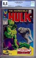 Incredible Hulk #104 CGC 8.5 w