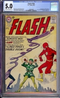 Flash #138 CGC 5.0 cr/ow