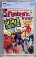 Fantastic Four #30 CBCS 7.5 w