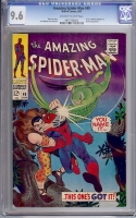 Amazing Spider-Man #49 CGC 9.6 ow/w