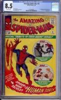Amazing Spider-Man #8 CGC 8.5 ow